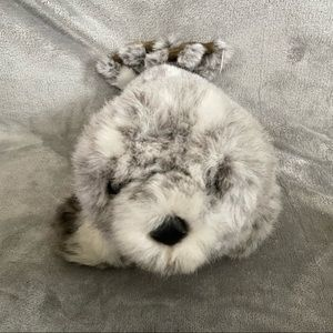 """Mary Meyer 18"""" Seal Gray White Spotted Plush"""